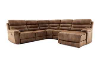 Left Hand Facing Power Plus Chaise Sofa