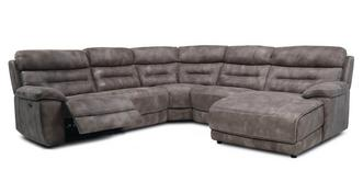 Clayton Left Hand Facing Power Plus Chaise Sofa
