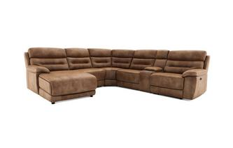 Option D Right Hand Facing Power Chaise Sofa