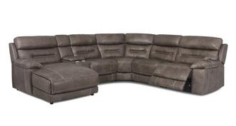 Clayton Option D Right Hand Facing Power Chaise Sofa