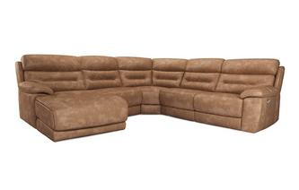 Option F Right Hand Facing Power Plus Chaise Sofa