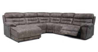 Clayton Option F Right Hand Facing Power Plus Chaise Sofa