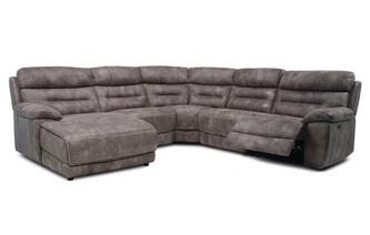 Option F Right Hand Facing Power Plus Chaise Sofa Grand Heritage