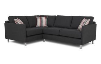 Right Hand Facing 2 Seater Corner Sofa Cleo Plain
