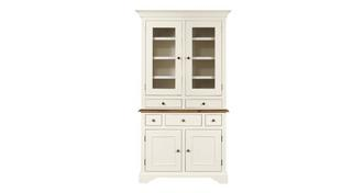 Clermont Small Sideboard & Small Glazed Hutch