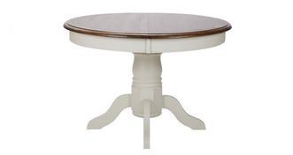 Clermont Ronde uitschuifbare tafel