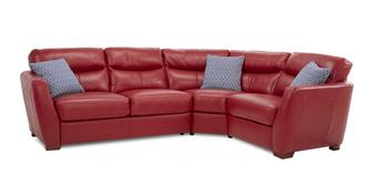 Cleveland Option A Left Hand Facing 2 Corner 1 Sofa