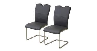 Clover Set of 2 Cantilever Dining Chairs
