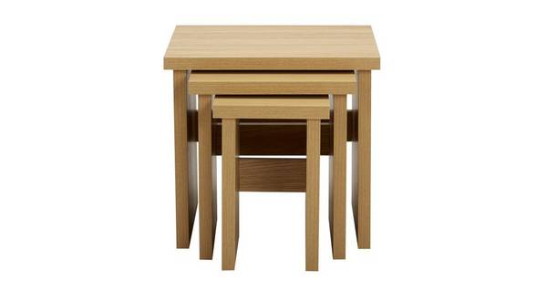Clover Nest of 3 Tables