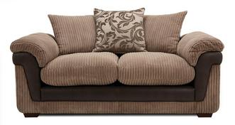 Coburn 2 Seater Pillow Back Deluxe Sofa Bed