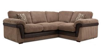 Coburn Left Hand Facing 3 Seater Formal Back Corner Sofa