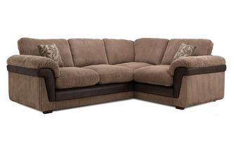Left Hand Facing 3 Seater Formal Back Corner Sofa Inception