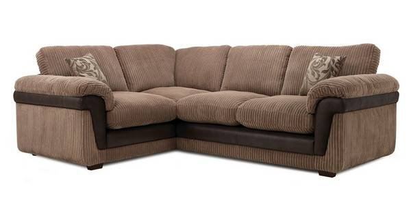 Coburn Right Hand Facing 2 Seater Formal Back Corner Sofa
