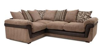 Coburn Right Hand Facing 2 Seater Pillow Back Corner Sofa