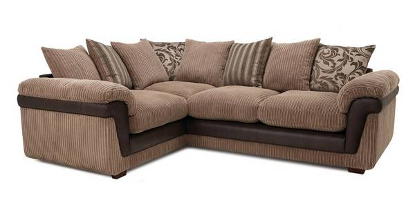 Coburn Right Hand Facing 2 Seater Pillow Back Corner Sofa