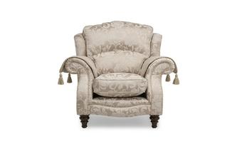 Wing Chair Colman Floral