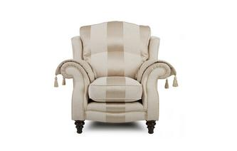 Wing Chair Colman Wide Stripe