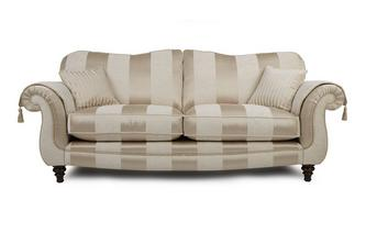 4 Seater Sofa Colman Wide Stripe