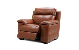 Colmar Electric Recliner Chair Brazil with Leather Look Fabric