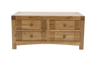 Storage Coffee Table Colorado Oak