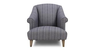 Columbus Stripe Accent Chair