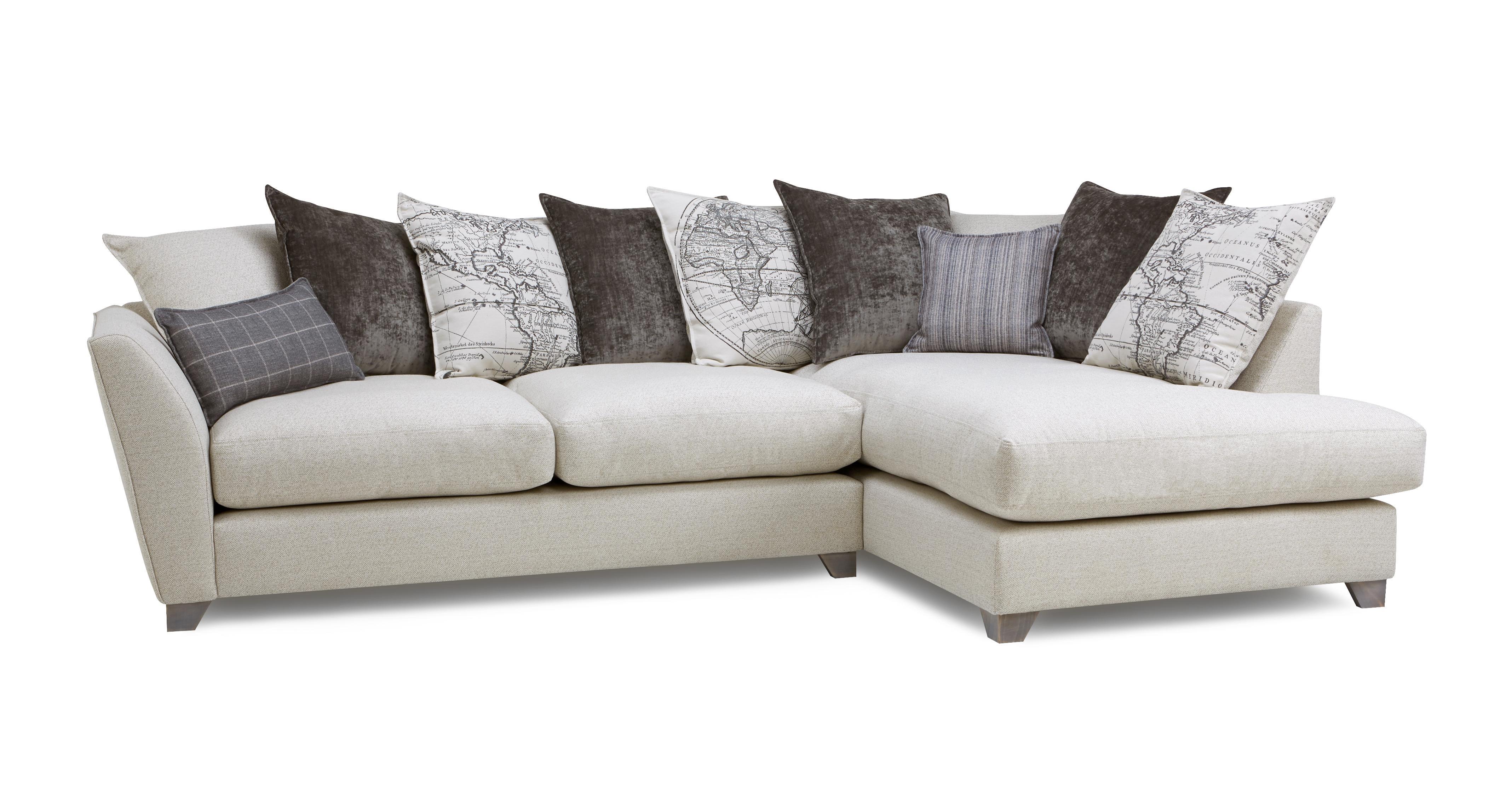 Columbus Left Hand Facing Arm Medium Corner Sofa Dfs