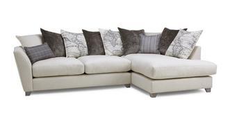 Columbus Left Hand Facing Arm Medium Corner Sofa