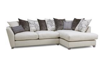 Left Hand Facing Arm Medium Corner Sofa