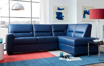 Comet Left Hand Facing Arm Corner Sofa Hazen