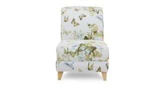 Corinne Patterned Accent Chair