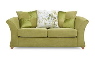 2 Seater Pillow Back Deluxe Sofa Bed Corinne