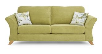 Corinne 3 Seater Formal Back Sofa