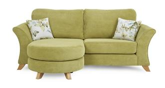 Corinne 3 Seater Formal Back Lounger Sofa