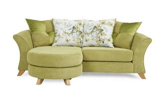3 Seater Pillow Back Lounger Sofa Corinne