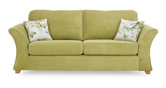 Corinne 3 Seater Formal Back Sofa Bed