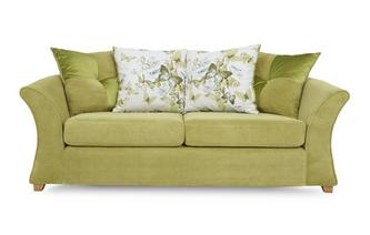 3 Seater Pillow Back Deluxe Sofa Bed Corinne