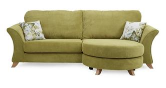 Corinne 4 Seater Formal Back Lounger Sofa