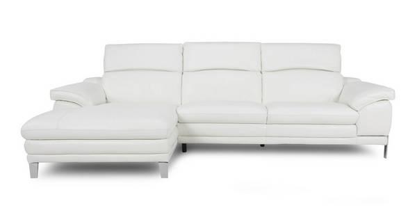 Corso Option B Left Hand Facing Large Chaise End Sofa