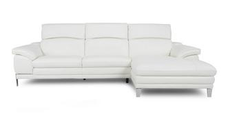 Corso Optie A Grote bank met recht eenzijdige chaise