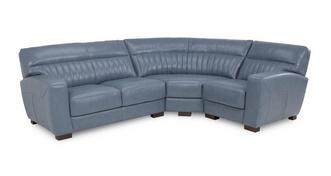 Cortina Left Hand Facing 2 Seater Corner Sofa