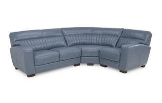 Left Hand Facing 2 Seater Corner Sofa Milan