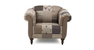 Country Patch Armchair