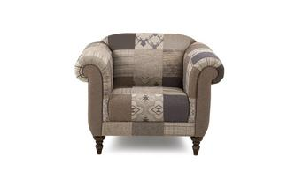 Fauteuil Country Patch