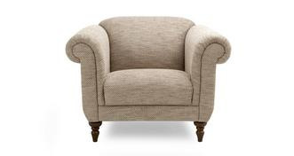 Country Plain Armchair