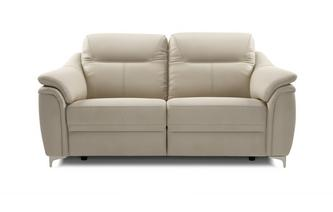 3 Seater Manual Recliner (Leather)