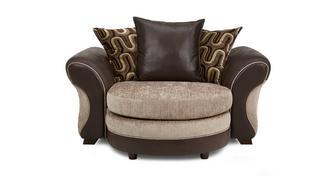 Croft Knuffel loungebank met losse rugkussens