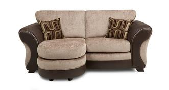 Croft 2 Seater Formal Back Lounger