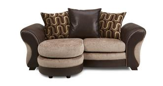 Croft 2 Seater Pillow Back Lounger