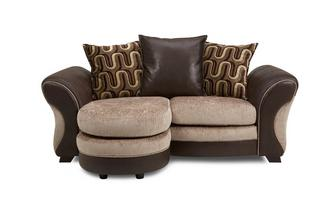 2 Seater Pillow Back Lounger Croft