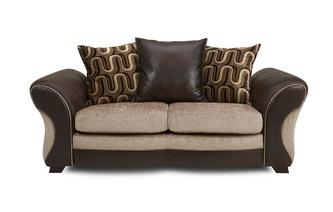 Large 2 Seater Pillow Back Deluxe Sofa Bed Croft